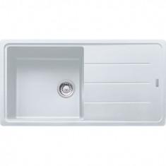 Évier de cuisine Fragranit BFG611-97 - Blanc artic - sous meuble 60cm -  970x500mm - Franke