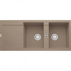 Évier MARIS MRG221 - Oyster - 1151x491x205 mm - Sous meuble 90 cm - Franke