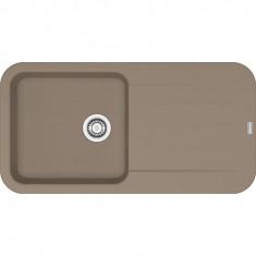Évier PEBEL Fragranit PEG611-97 - Oyster - 970x500x200 mm - Sous-meuble 60 cm - Franke