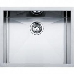 Cuve carrée Planar PPX 110-52 Inox - 560x450x200 mm - Sous meuble 80 cm - Franke