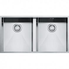 Cuve carrée Planar PPX 120 Inox - 760x450x200 mm - Sous meuble 90 cm - Franke