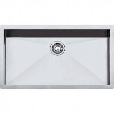 Cuve carrée Planar PPX 110-72 Inox - 760x450x200 mm - Sous meuble 80 cm - Franke