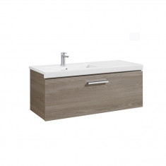 Meuble Unik PRISMA 1100mm 1 tiroir, lavabo à gauche ou droite