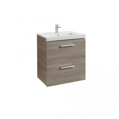 Meuble Unik PRISMA 600mm 2 tiroirs et lavabo
