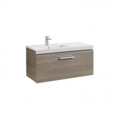 Meuble Unik PRISMA 900mm 1 tiroirs et lavabo à gauche ou droite