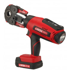Pince à sertir électro-mécanique Viper® M21 avec 2 batteries (18 volts) - Sans pince mère - Virax