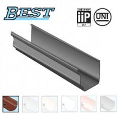 Profile gouttière PVC BEST carrée