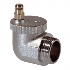 Robinet thermostatique radiateur corps angle à gauche réglable RA-N