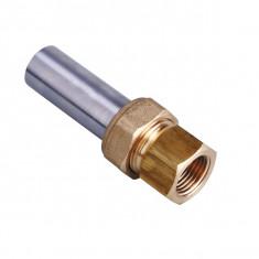 Raccord 3 pièces à visser Femelle cylindrique à souder sur tube acier