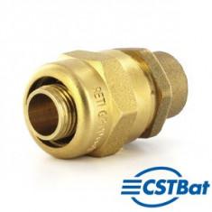 Raccord à compression tube PER - Adaptateur cuivre à souder - Retigripp