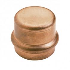 Raccord cuivre à sertir - Bouchon Femelle Ø14