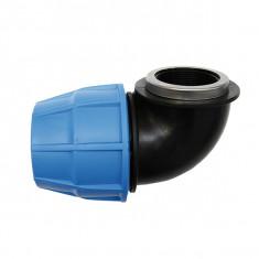 Raccord plastique tube PE - Raccord coudé femelle