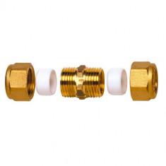 Raccord laiton bicône droit (10x10)  - Watts 22L0703010