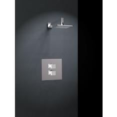 Kit de douche thermostatique encastré 1 voie ALEXIA avec douche de tête - Ramon Soler K4724002