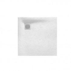 Receveur de douche en résine Terran 900 x 900 x 28 mm
