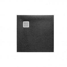 Receveur de douche en résine Terran 800 x 800 x 26 mm