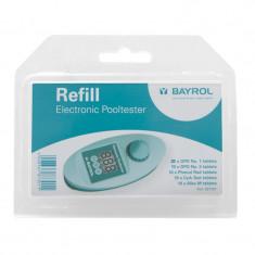 Recharge pour testeur électronique eau piscine Electronic Pooltester - BAYROL