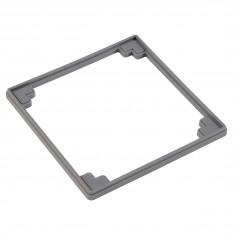 Réhausse 5 mm pour grille carrée siphon de sol Isotanche