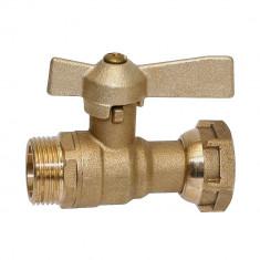 """Kit support compteur eau 170mm - Ecrou tournant 3/4"""" (20x27)"""