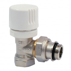 """Robinet thermostatisable corps EQUERRE Femelle 1/2""""(15/21)"""