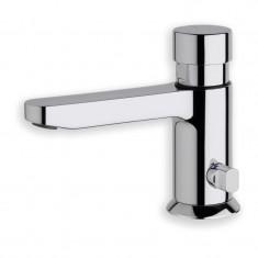 Robinet temporisé lave-mains déco QUIK Chromé - Cristina Ondyna Q523251