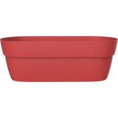 Jardinière CANCUN Rouge Rubis - Dim. 76 x 29,5 x 25,9 cm - 38 L - EDA