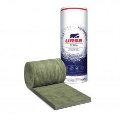 2 rouleaux laine de verre URSACOUSTIC TERRA nu 600mm - Ep. 60mm - 14,40m² - R 1.50
