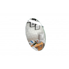 Miroir de salle de bain Round avec bande lumineuse - Salgar