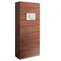 Habillage bâti-support pour WC suspendu - UNIT - acacia marron - Salgar 25367