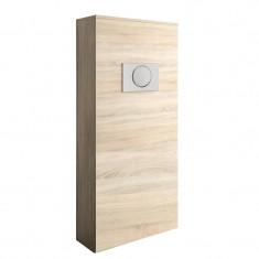 Habillage bâti-support pour WC suspendu - UNIT - chêne calédonie - Salgar 25368