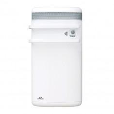 Sèche-serviette AIRELEC INDIGO rayonnant + soufflerie 1400W - Blanc