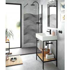 Ensemble de salle de bain - Meuble complet et plan de vasque VINCI 610 - Salgar