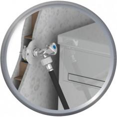 FIXOPLAC Machine à laver - PER Ø12 coudé à sertir - F1/2 (15/21) - plâtre alvéolaire - Somatherm