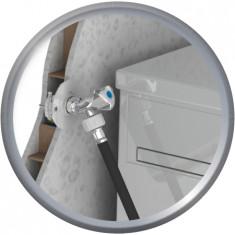 FIXOPLAC Machine à laver - PER Ø16 coudé à sertir - F1/2 (15/21) - plâtre alvéolaire - Somatherm