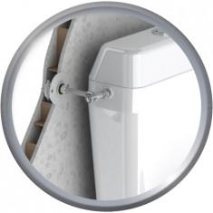 FIXOPLAC Robinet WC - PER Ø12 coudé à sertir - M3/8 - plâtre alvéolaire - Somatherm