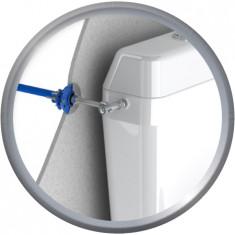 """FIXOPLAC Robinet WC- PER Ø12 droit à glissement - M3/8"""" (12/17) - Plaque standard - Somatherm"""