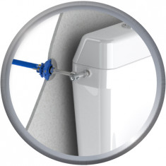 FIXOPLAC Robinet WC- PER Ø12 droit à sertir - M3/8 - Somatherm