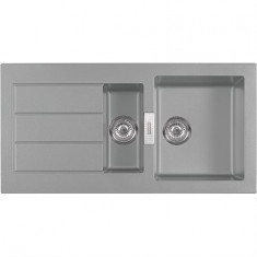 Évier SIRIUS SID651 - Urban grey - 1000x510x190/160 mm - Sous-meuble 60 cm - Franke
