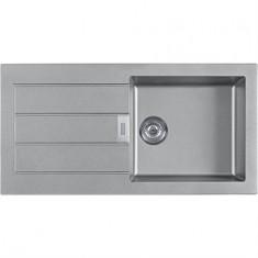 Évier SIRIUS SID611-100 - Urban grey - 1000x510x190 mm - Sous meuble 60 cm - Franke