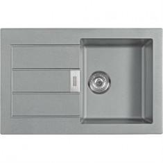 Évier SIRIUS SID611-78 tectonite - Urban grey - 780x500x190 mm - Sous meuble 50 cm - Franke