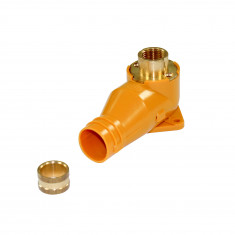 Sortie de cloison longue - tube PER 20mm