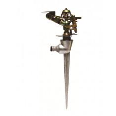 Arroseur cracheur métallique secteur réglable piquet métal - 450m²