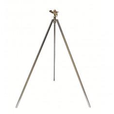 Arroseur cracheur métallique secteur réglable trépied pliant-450m²