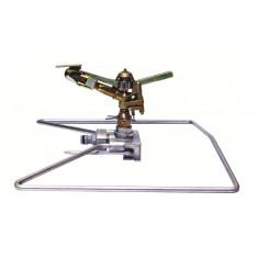 Arroseur cracheur métallique secteur réglable traineau+piquet-700m²