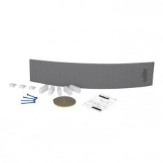 Tablier de douche courbe à carreler 30mm - 1300x200mm - Lazer 330502