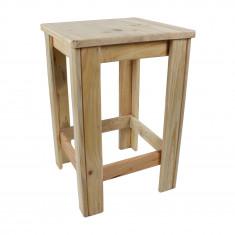 Tabouret en bois de palette 35 x 35 x 52 cm