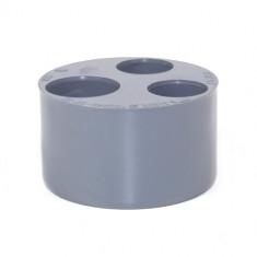 Tampon de Réduction Triple PVC MF 100/40/32/32