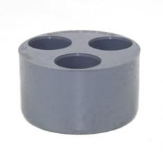 Tampon de Réduction Triple PVC MF 110/40/40/40