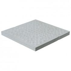 Tampon de sol léger PVC anti-choc - GRIS - FIRST-PLAST