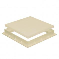 Tampon de sol PVC renforcé avec cadre anti-choc- SABLE - FIRST-PLAST